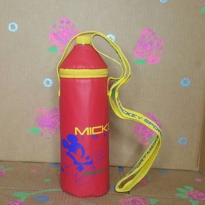 Mickey Mouse Sport Water Bottle with Strap